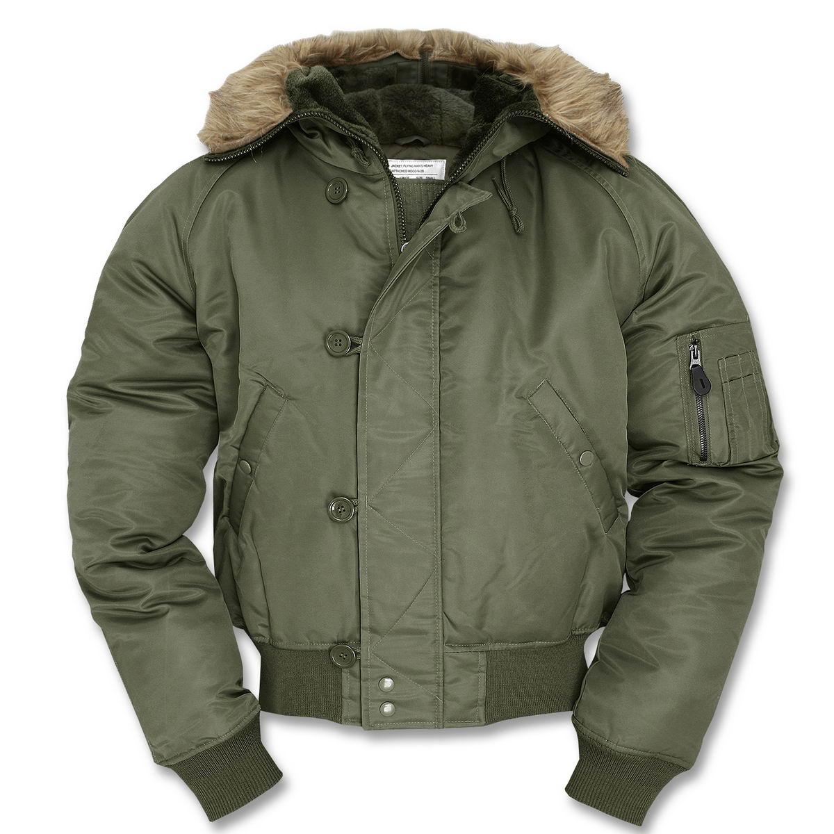 Wehrmacht Kifordítható Téli Kabát (MIL TEC) Bajonett
