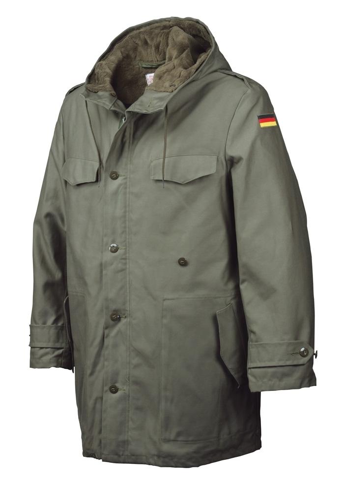 9762a5f68c Eredeti Bundeswehr Parka Kabát (MIL-TEC) - Bajonett Military Shop