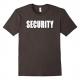 MIL-TEC Security Feliratú Póló Elől