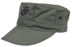 MFH US. USMC Zöld Sapka Rip-Stop