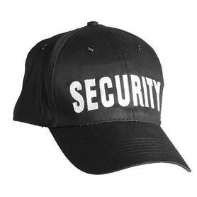 MIL-TEC Baseball Sapka Security Feliratú
